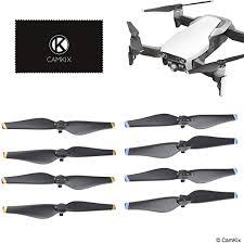 Propellers for <b>DJI Mavic Air</b> - 2 Sets (8 Blades) - <b>Quick Release</b> ...