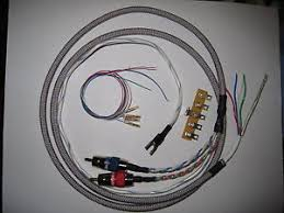 turntable wiring harness silver gold plated tonearm to amp image is loading turntable wiring harness silver gold plated tonearm to