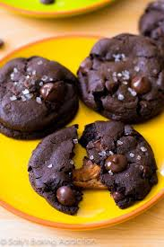 <b>Salted Caramel</b> Dark <b>Chocolate</b> Cookies | Sally's Baking Addiction