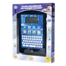 <b>Русско</b>-английский детский обучающий <b>планшет Play Smart</b>