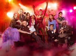 Image result for rocky horror picture show let's do the timewarp again