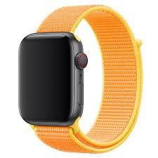 <b>Ремешок Krutoff Nylon</b> для Apple Watch 42/44mm (yellow) 11 с ...