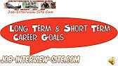 short term vs long term goals   youtubeunderstanding long term career goals and short term career goals   duration      jobinterviewsite     views