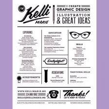 examples of creative graphic design resume   singlepageresume com    graphic design resume graphic design resume kelli