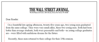 the five s letters every marketer should know hands down essential s letter 4 martin conroy s two young men letter for the wall street journal