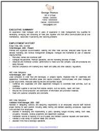 sample template of an excellent restaurant manager resume example with work experience international standard cv std resume format