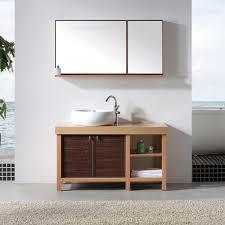 bathroom vanities single classy single vessel sink bathroom vanity with top for