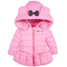 AnKoee Girls <b>Winter Autumn Butterfly</b> Hood Outwear Baby Girl's ...