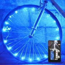 <b>Cool Bicycle Spoke Light</b> 20LED String Night Riding Decorative ...