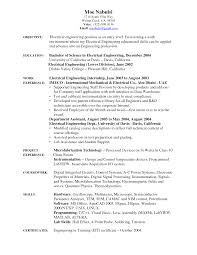 sample resume entry level engineer cipanewsletter cover letter electrical engineering resume example electrical