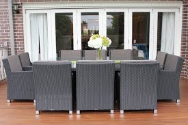 dining table that seats 10: garden furniture penrith images guru royale  seater wicker dining  x