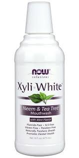 Buy NOW Solutions <b>Xyliwhite Neem &</b> Tea Tree <b>Mouthwash</b> at Well ...