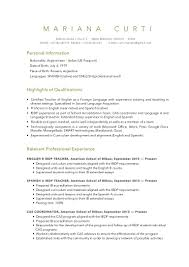 cv mariana curti 2016 latest version