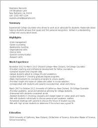 professional college counselor templates to showcase your talent    resume templates  college counselor