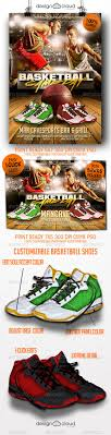 sports poster templates for photoshop com graphicriver basketball game day flyer templates 8434535