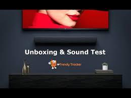<b>Xiaomi</b> 33 inch <b>TV</b> Soundbar Black | Unboxing & <b>Sound</b> Test ...