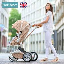<b>High landscape</b> foofoo baby <b>stroller two way</b> can sit reclining with ...