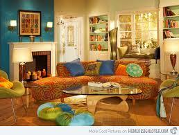 boho chic bohemian style living room