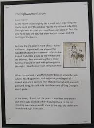 highwayman homework help the highwayman birdwell primary school birdwell primary school for homework we researched famous highwaymen from the