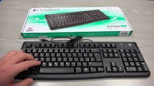 <b>Logitech K120 Wired</b> Keyboard Unboxing & Review - YouTube