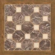 <b>Керамическая плитка Cristacer Castell</b> marron 45x45 напольная ...