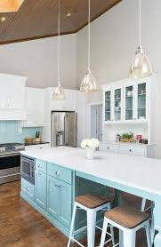 pendant lighting for sloped ceilings tiffany blue kitchen features a vaulted ceiling framing skylights accented with bathroom pendant lighting double vanity sloped ceiling