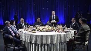 Путин подарил Ким Чен Ыну <b>набор стаканов с подстаканниками</b> ...