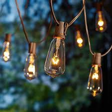 better homes and gardens glass edison string lights 10 count better homes and gardens lighting
