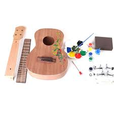 <b>DIY</b> Ukulele 23 Inch UKULELE <b>Small Guitar</b> Manual <b>Assembly</b>-buy ...