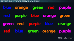 color psychology tests experiments video lesson transcript the stroop effect in psychology definition test experiment