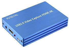 PUTELTAL 4K HDMI to <b>USB</b> 3.0 <b>Video</b> Capture Card Dongle 1080P ...