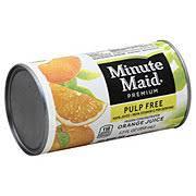 Minute Maid Premium Frozen Pulp <b>Free 100</b>% <b>Pure</b> Orange Juice ...