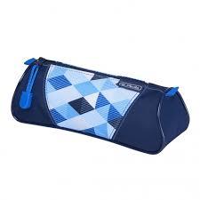 <b>Herlitz Пенал</b>-<b>косметичка Triangular</b> Blue Cubes - Акушерство.Ru