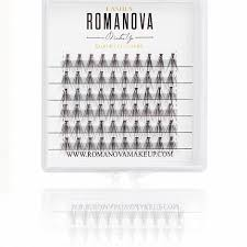 <b>Romanovamakeup Пучки</b> ресниц F <b>F</b>-<b>Short Mini</b> - Купить в VISAGE ...