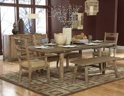 Dining Room Table With Benches Room Sets Cheap Rustic Dining Room Table And Bench Rustic Dining