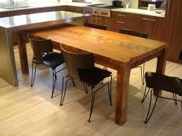 wood kitchen island handmade rustic