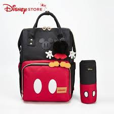 Disney Minnie and <b>Mickey</b> Mouse Classic Style Diaper Bags <b>2PCS</b> ...