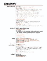 resume the other martha pfister resume