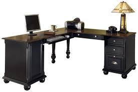 home office desks black black home office desk