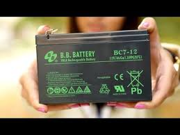 <b>Аккумулятор B.B. Battery</b> Bc 7-12 - YouTube