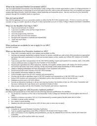 asg applications executive assistant