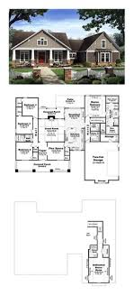 ideas about House Plans on Pinterest   Floor Plans  Square    Country House Plan   Total Living Area  sq  ft