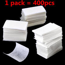 10/600 шт безворсовые <b>салфетки для снятия лака</b> для ногтей ...