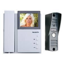 Комплект <b>видеодомофона FALCON EYE FE-4CHP2</b> + вызывная ...
