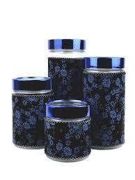 <b>Набор банок для сыпучих</b> продуктов Bellavita 8280362 в ...