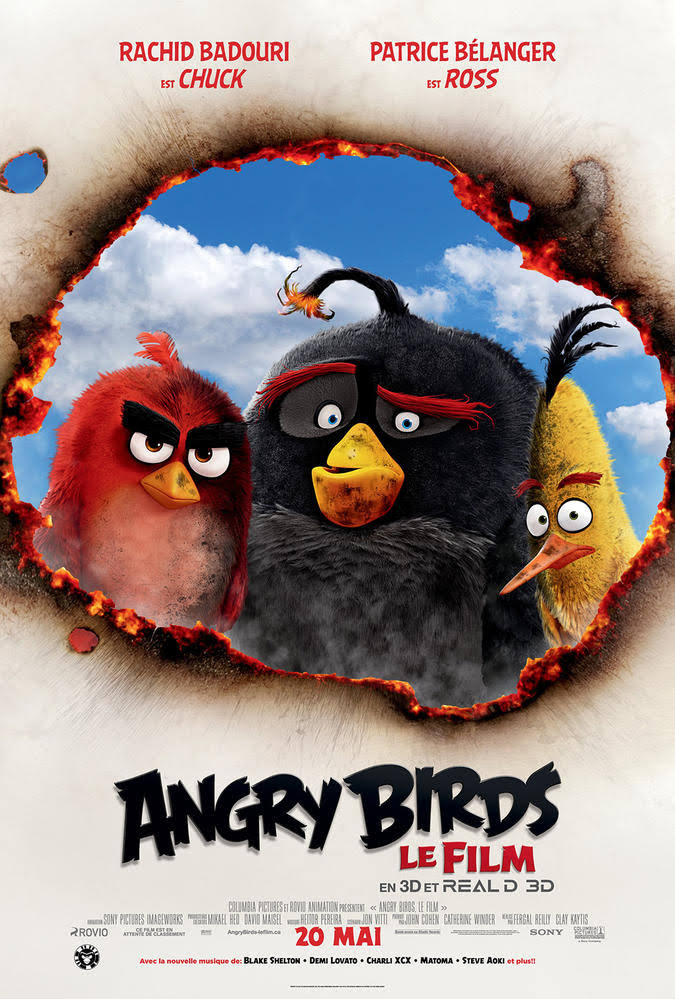 Download The Angry Birds Movie (2016) Dual Audio {Hindi-English} 480p [400MB] | 720p [1GB]