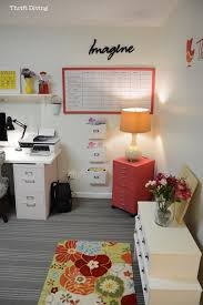 before after my pretty and colorful basement home office makeover beautiful home office makeover sita