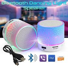 <b>Led Portable Mini Wireless</b> Bluetooth Speaker