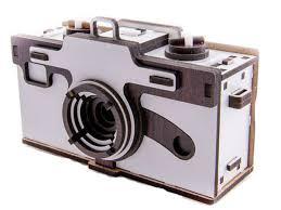 Купить <b>Деревянный 3D</b>-<b>конструктор</b> IQ GEARS Фотокамера ...