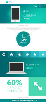 premium and psd website templates flat style website template psd for